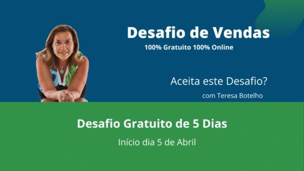 Teresa Botelho Cover Desafio de Vendas